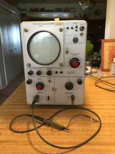 Tektronix Type 504 Oscilloscope Plus P6027 Probe