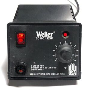 Weller Ec1001 Esd Power Station Output For Ec1201p Esd Soldering Irons