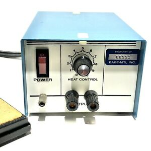 Pace 2476 Heat Control Station Soldering Blue With A6008 0008 Pedal