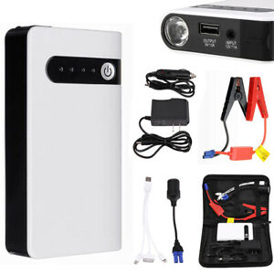 12v Mini Portable Car Jump Starter Booster Box Power Bank Engine Battery Charger