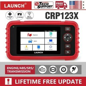 Launch X431 Crp123x Diagnostic Scanner Obd2 Code Reader Abs Airbag Engine Check
