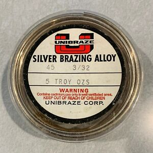 Silver Brazing Alloy 45 3 32