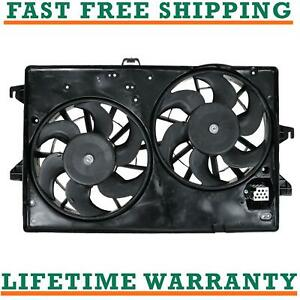 Radiator Condenser Fan For 95 00 Ford Fits Contour 2 5l V6 Free Shipping