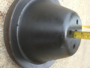 Water Pump Pulley Single Groove 7 1 8 Wide 3 7 16 Tall Sbf Bbf Sbc Bbc Sbm