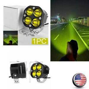 Driving Yellow Spotlights 3 Inch Cree Led Work Light Pods For 4x4wd Off Road Car