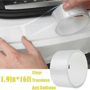5m 16ft Car Door Edge Guards Clear Protector Strip Entry Guards Scratch Cover