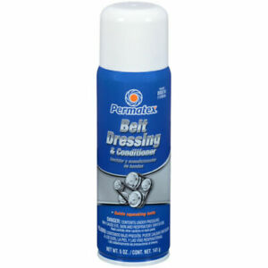 Permatex 80074 Belt Dressing Condition 5 Oz Aerosol Can