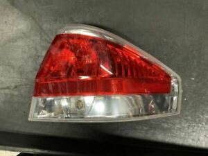 Passenger Tail Light Sedan Bright Chrome Trim Fits 08 11 Focus 851898