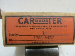 Nos 1941 42 Studebaker Champion Carter Carburetor Thermostatic Choke Coil Cover