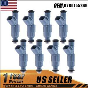8x Upgrade Fuel Injectors For Dodge Ram 1500 4 7l 2002 2007 For Bosch 0280155849