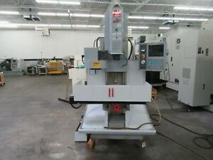 Haas Tm 1 Cnc Toolroom Mill With 4th Axis Brushless Drive Only 872 Spindle Hrs