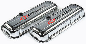 Proform Stamped Steel Chevrolet Valve Covers 141 812 Chevy Bbc 396 427 454