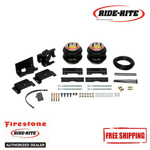 Firestone Ride Rite Red Label Extreme Duty Air Spring Kit For 2014 2018 Ram 2500