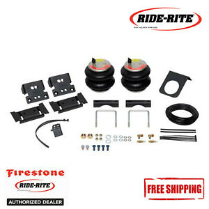 Firestone Ride Rite Red Label Extreme Duty Air Spring Kit For 13 18 Ram 3500 4wd