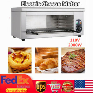 2000w Electric Cheese Melter Cheesemelter Broiler Restaurant Kitchen Equipment