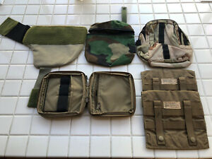 LOT OF 6 NEW MOLLE POUCHES COYOTE Woodland NSW SEAL DEVGRU Helmet Plate Carrier $39.99