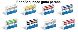 New Brasseler Endosequence Gutta Percha Points Different Variations pack Of 60