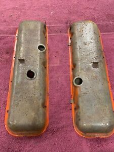 Chevrolet 396 454 Big Block Valve Covers Original Parts Oem Muscle Car
