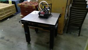 Brand New Vision Isostation By Newport With P15 tc Compressor Lab Work Table