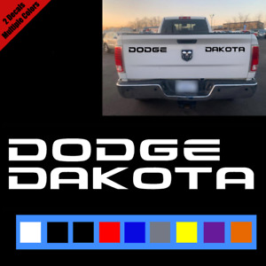 Dodge Ram Dakota Tailgate Vinyl Decal Sticker Truck Vehicle 1994 2002