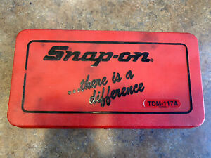 Snap on Tools Tap And Die Set Tdm 117a
