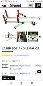 Laser Toe Angle Tool Gauge For Wheel Alignment