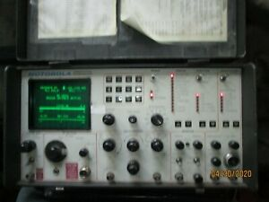 Motorola Model R 2001a hs Communications Service Monitor Used Untested