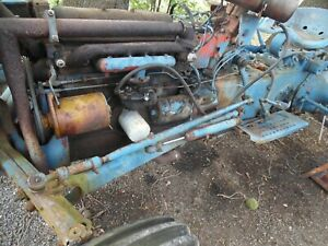 Ford 600 800 2000 4000 Tractor Complete Orignal Power Steering Set Up