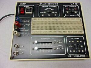 E L Op amp Designer Oa 2 Prototyping Bread Board Function Generator Powered