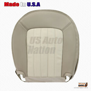 2002 2005 Mercury Mountaineer Driver Bottom Perforated Leather Seat Cover Tan