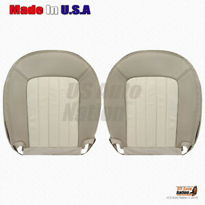 2002 2005 Mercury Mountaineer Driver Passenger Bottom Leather Seat Cover Tan