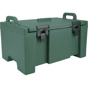 Cambro Upc100192 Camcarrier Granite Green Top Loading 8 Deep Insulated Pan