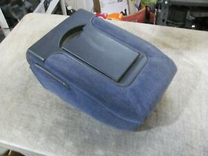 Chevy Gmc Silverado Sierra Yukon Center Console Jumpseat Armrest Blue 99 06