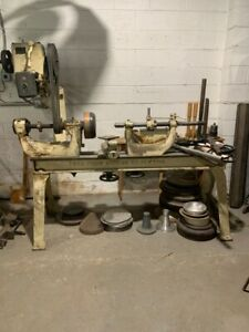 Metal Spinning Lathe Thos Fruin Machine Co Pryibil