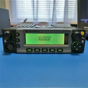 Motorola O5 Control Head For Apx Xtl5000 Mobile Two Way Radio Hln1463 Hln1467