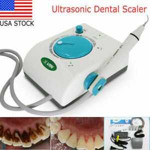 100 240v Ultrasonic Dental Self Scaler Cleaning Machine 5 Handpiece Tips
