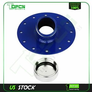 Blue 45 Degree Fuel Cell Gas Tank 1 5 Remote Fast Fill 2 75 Filler Neck Cap