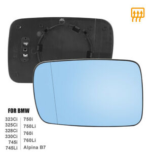 Mirror Glass Heated With Backing Plate Driver Side Lh For Bmw 325ci 760li