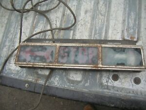 Early Vintage Stop Lamp Car Truck Hot Rod Rat Rod Antique Light