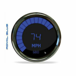 Intellitronix Ms9250b Led Digital Bar Tachometer Blue