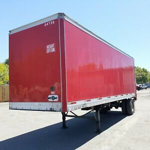 2004 Trailmobile 28 Pup Trailer With Liftgate