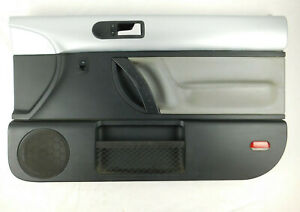 1998 2010 Volkswagen Vw New Beetle Passenger Right Door Panel Black Silver Gray