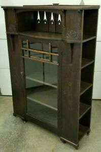 1920 S Arts Crafts Mission Oak Bookcase