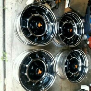 1986 87 Buick Grand National Original Rims 4 Clean Oem