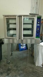 Kfe Single Deck 240v Electric Convection Oven W Legs