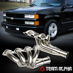 Fits Big Block Chevy Bbc 396 572 Mid Length Stainless Exhaust Manifold Header