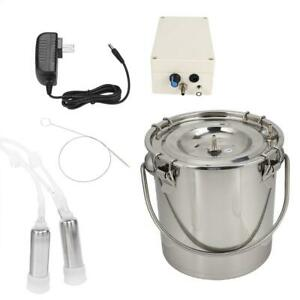5l Portable Electric Milking Machine Vacuum Pump For Cow Cattle Milking