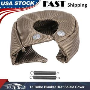 Turbo Blanket Heat Shield Cover Barrier Turbo Charger Wrap For T3 Turbochargers