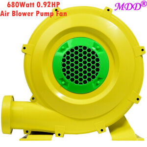 Air Blower Pump Fan 680 Watt 0 92hp For Inflatable Bounce House Bouncy Castle
