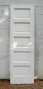 23 X79 Antique Vintage Solid Wood Wooden Interior Door Horizont